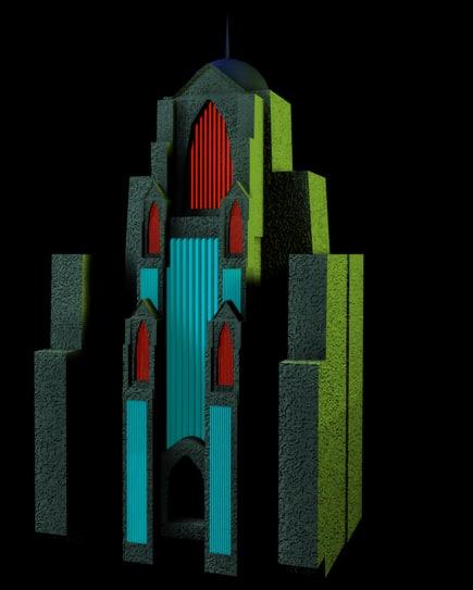 3d ferris tower