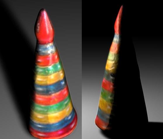 c4d cone toy