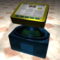 3d multimedia kiosk