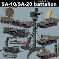 SA-10/SA-20 battalion