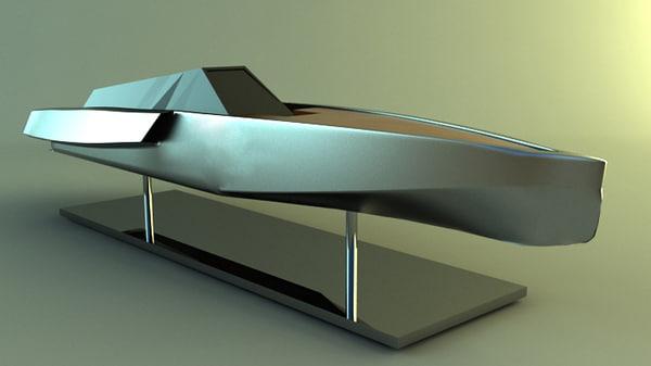 3ds max super yacht