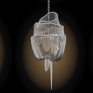 3d model of terzani atlantis chandelier