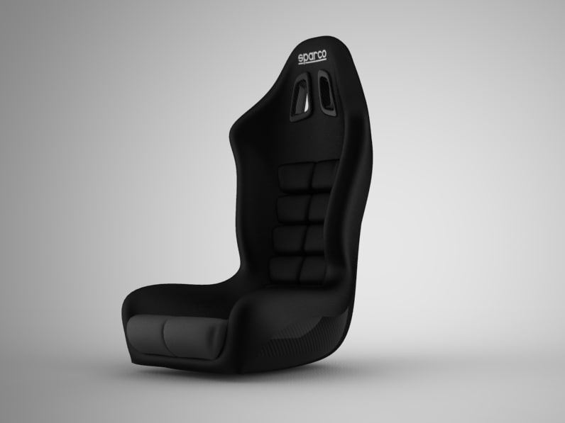 3d sparco seat