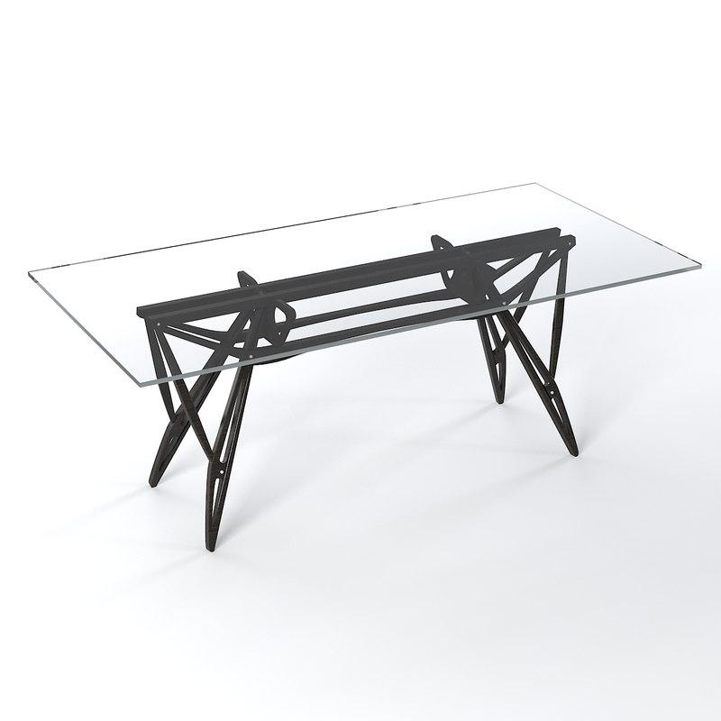 Zanotta Reale Work 3d Model