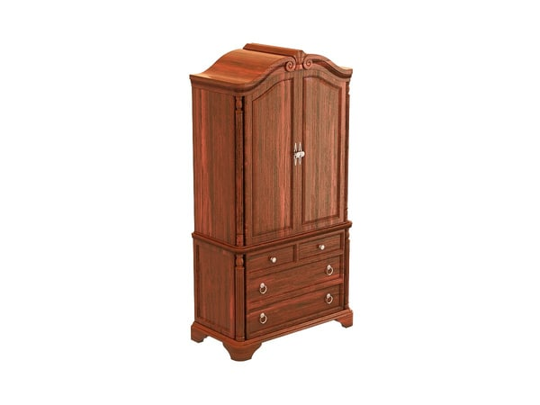 3d model of foxbrough armoire