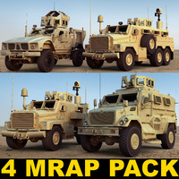 3ds max mrap military vehicles h