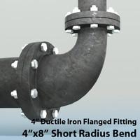 3ds max 4in short radius reducing