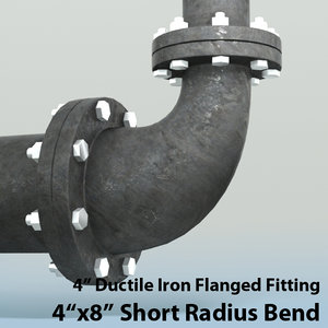 3ds max 4in short radius reducing
