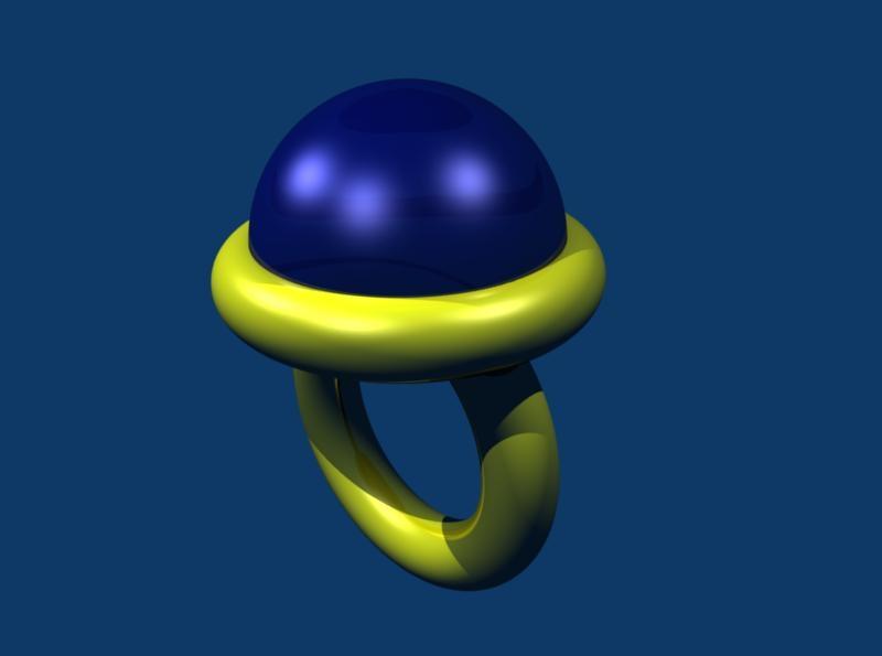 free blend model blue ring