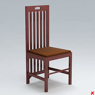 free dxf model chair