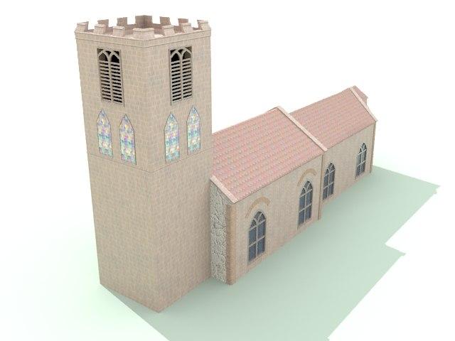 st peter church 3d 3ds