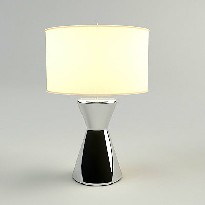 3d table lamp materials model