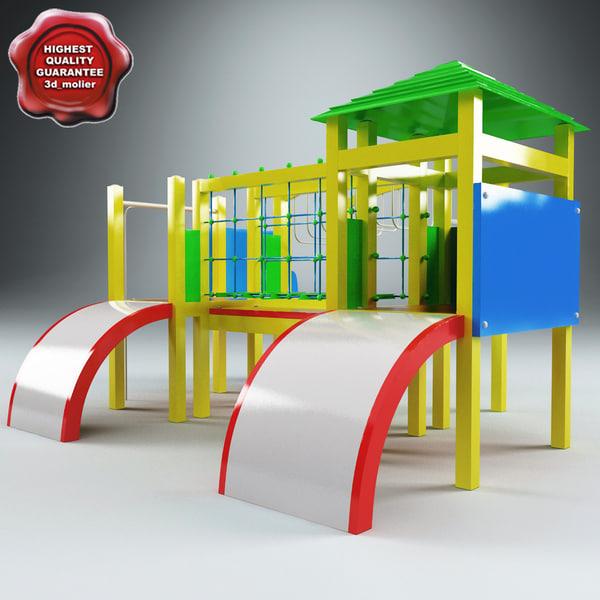 playground v1 3d model