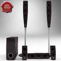 Speaker System LG XH T762PZ V2
