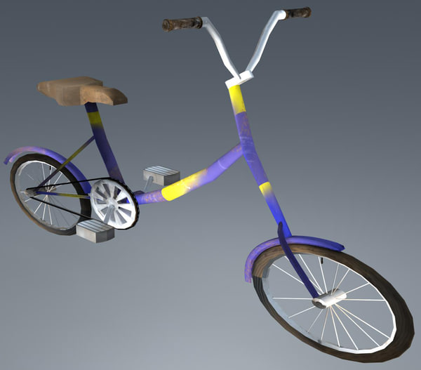 3ds max dusty bicycle