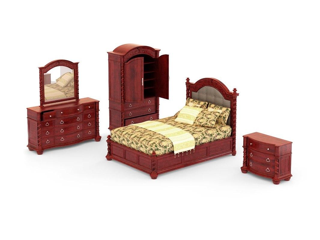maya bedroom set - conquistador