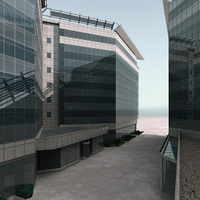 max modern office building