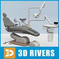 Dental chair by 3DRivers