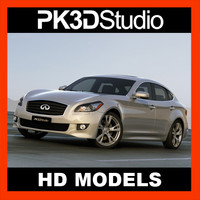 3d model infiniti m56 2011