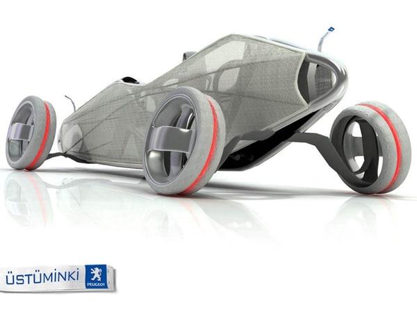 peugeot concept car contest 3ds