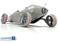 Peugeot Concept Car contest 3 original model
