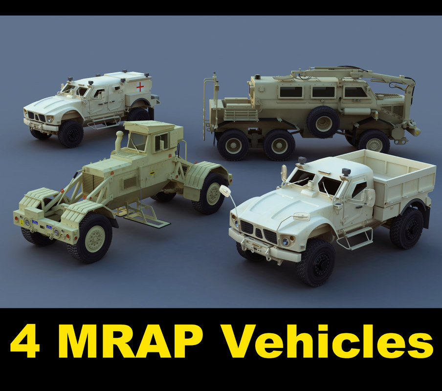 3ds max resistant utility vehicles