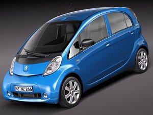 3d peugeot ion 2012 city car