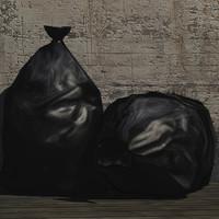 rubbish bag prop 3d model