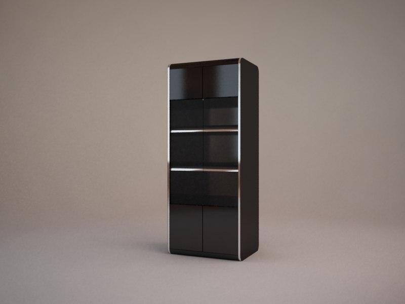 3d bookcase