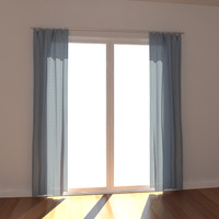 3d max draperies window