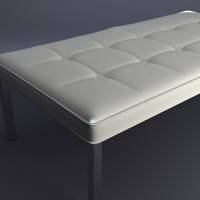 3ds settee contemporary