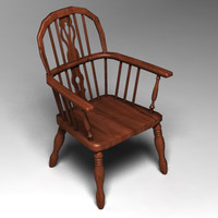 Wooden Chair 1 (Low Res)