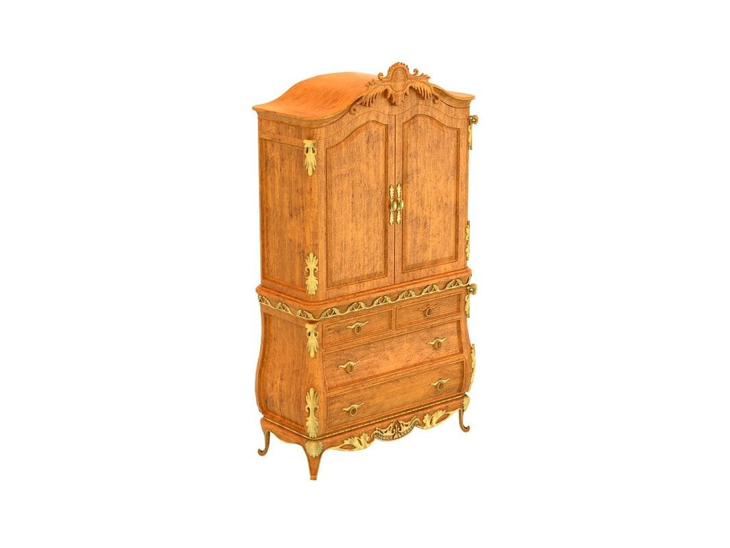 3d versailles armoire model