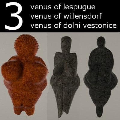 statues venuses venus 3d 3ds