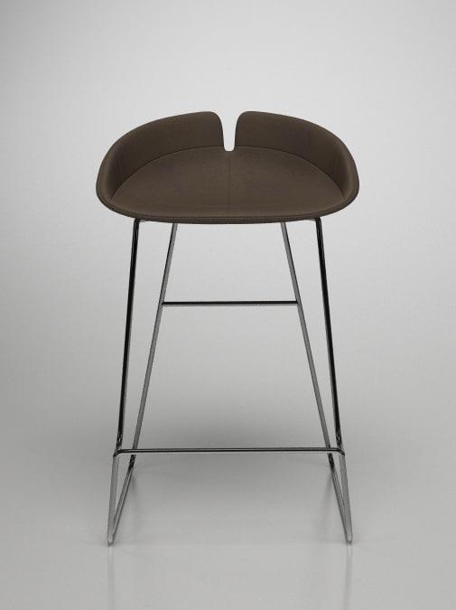 moroso fjord bar stool 3d model