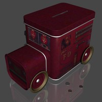 3d model money box