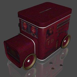 3d model money box