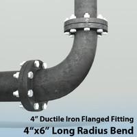 4in long radius reducing ma