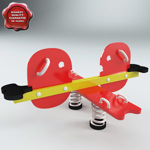 3d model collective seesaw hen v3