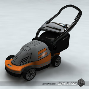 3ds max lawn mower