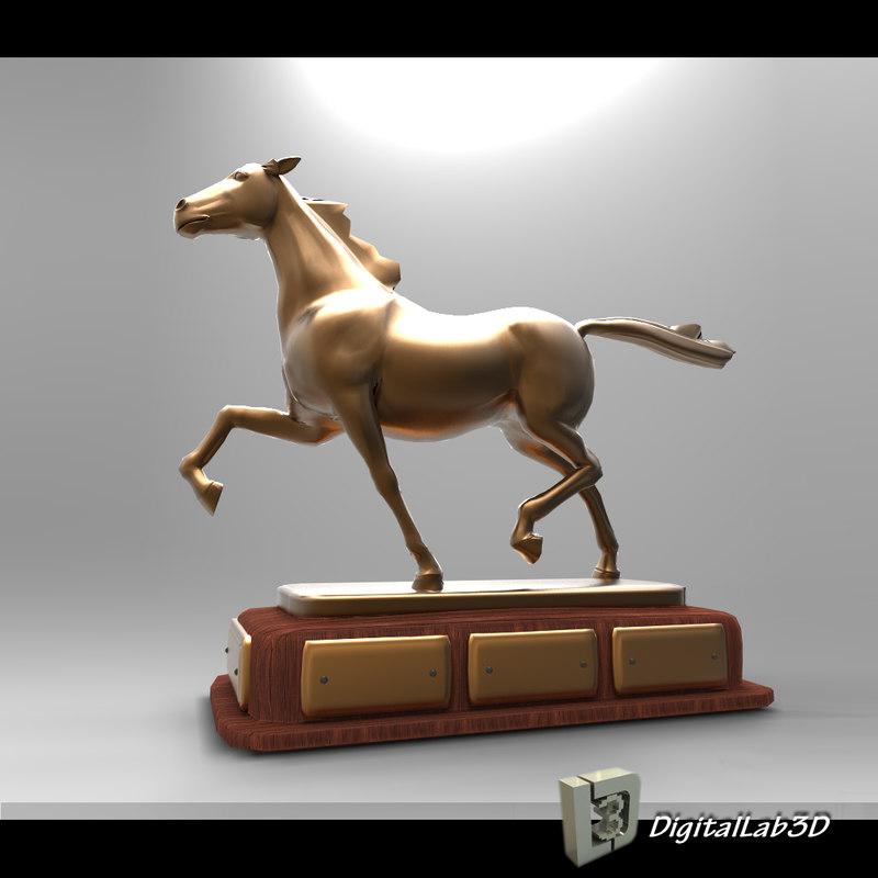 maya stallion figurine