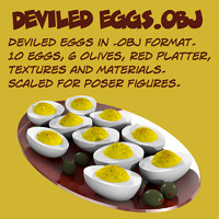 Deviled eggs.obj