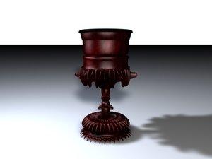 3d evil goblet