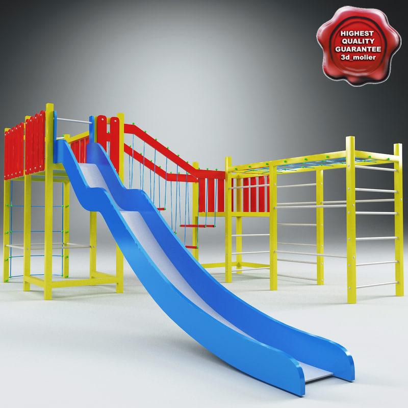 3d playground v4 model