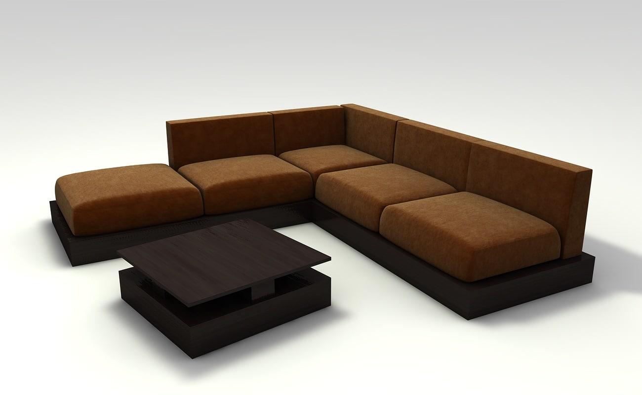 scyon set sofa 3d model