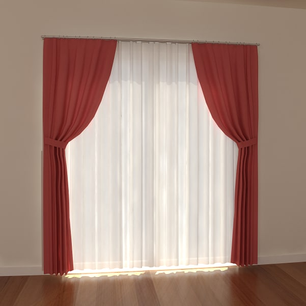 curtain light 3d model