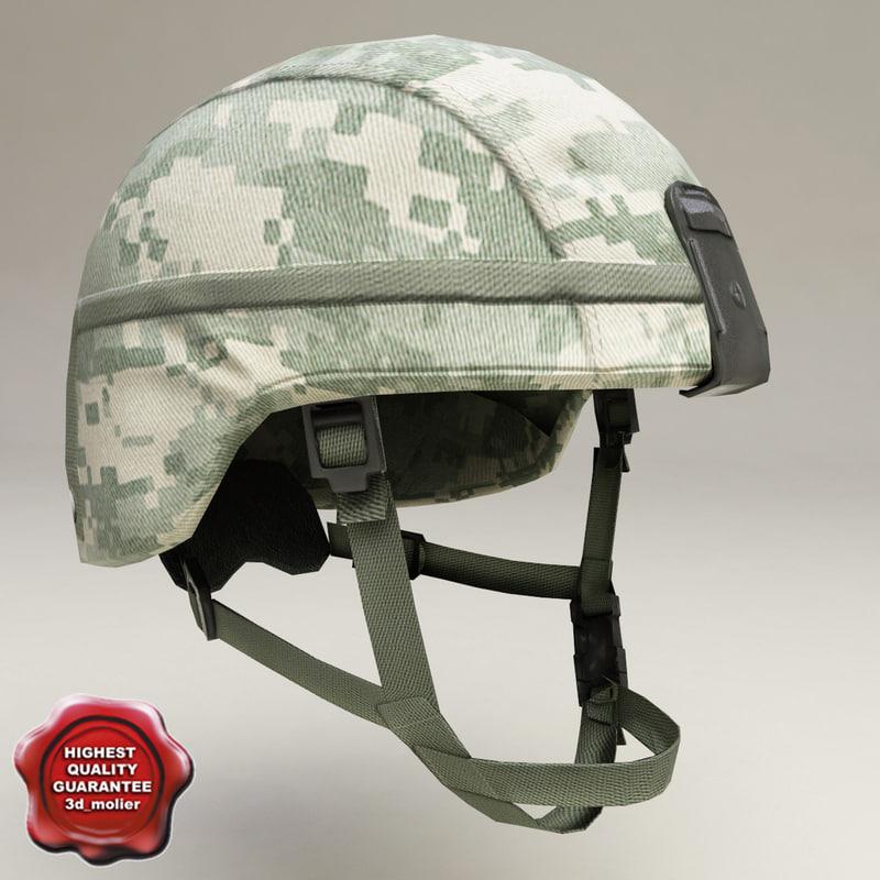 maya soldier helmet v2
