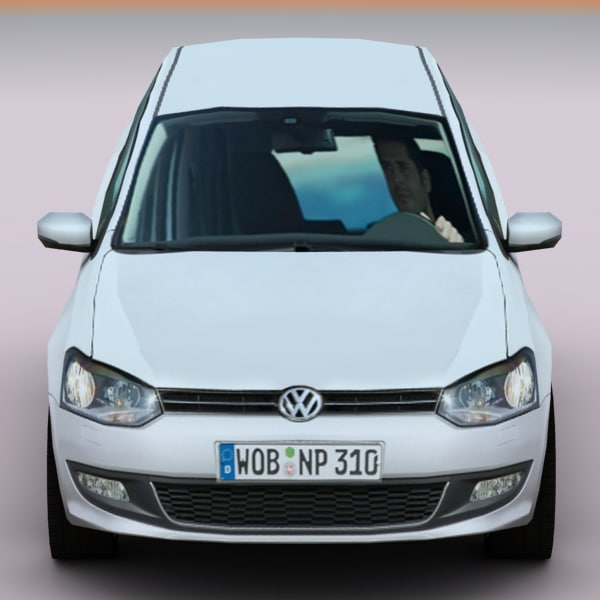 3ds Max 2010 Volkswagen Polo