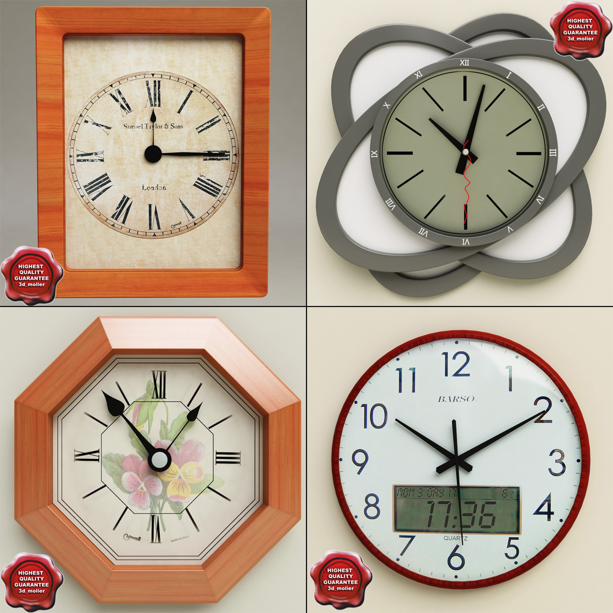 wall clocks max