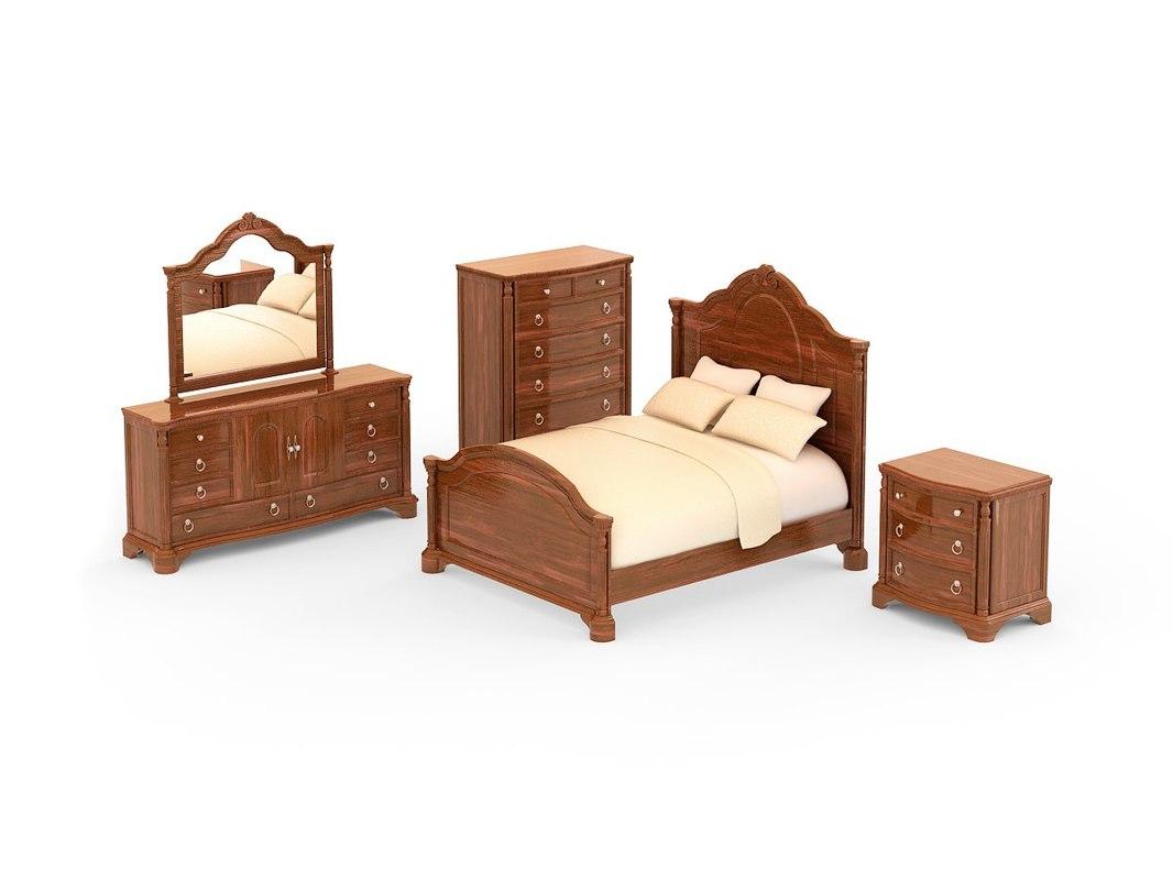 bedroom set - foxborough max